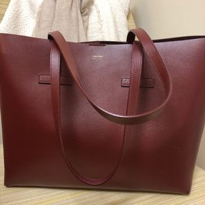 b3ec796809 Tom Ford Bags | New Small T Tote Bag In Dark Red | Poshmark